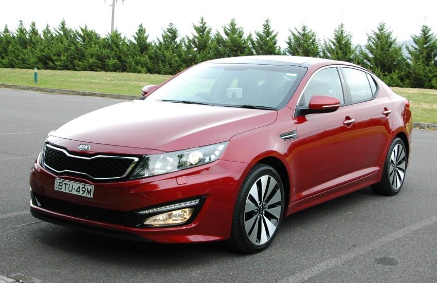 DRIVEN: Kia Optima 2.4 GDI sampled in Melbourne Image #66540
