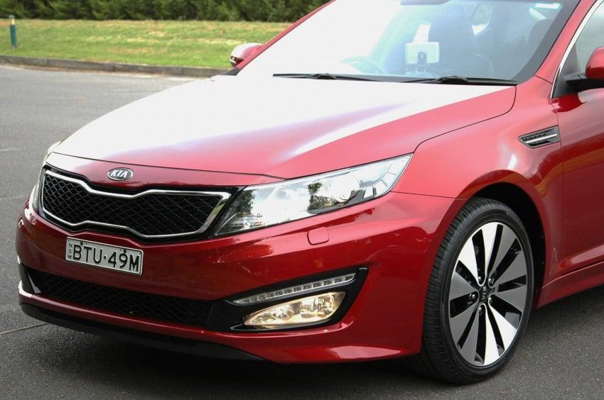 DRIVEN: Kia Optima 2.4 GDI sampled in Melbourne Image #66541