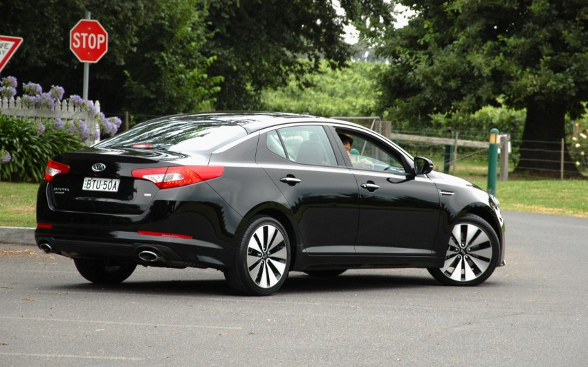 DRIVEN: Kia Optima 2.4 GDI sampled in Melbourne Image #66542