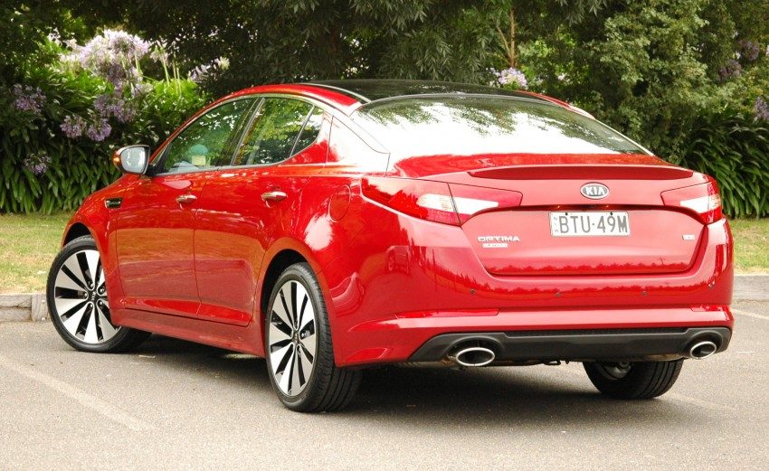 DRIVEN: Kia Optima 2.4 GDI sampled in Melbourne Image #66543