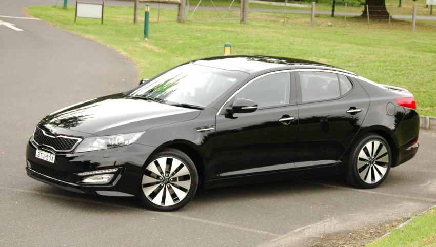 DRIVEN: Kia Optima 2.4 GDI sampled in Melbourne Image #66546
