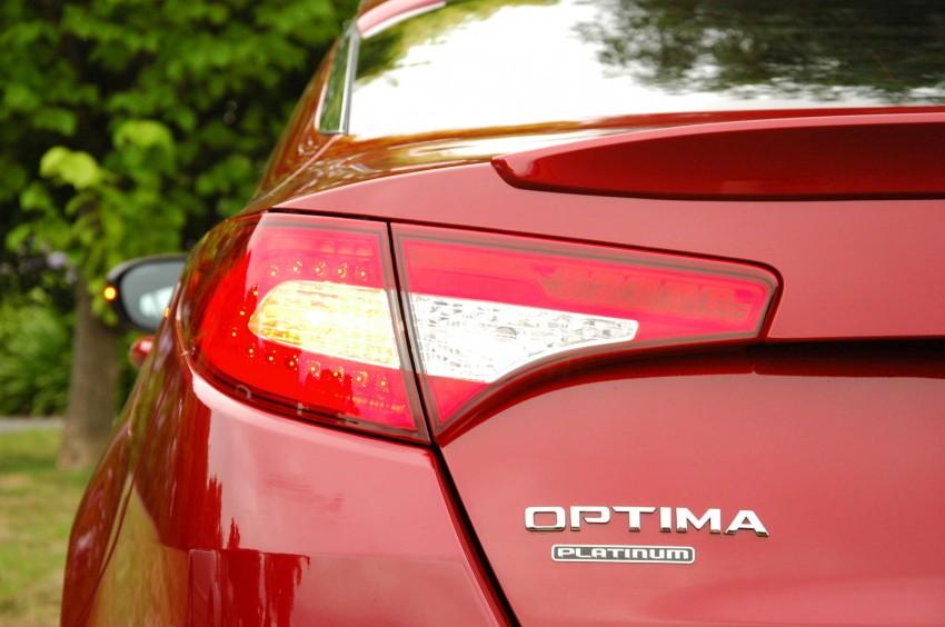 DRIVEN: Kia Optima 2.4 GDI sampled in Melbourne Image #66548