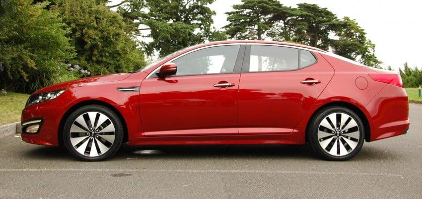 DRIVEN: Kia Optima 2.4 GDI sampled in Melbourne Image #66549