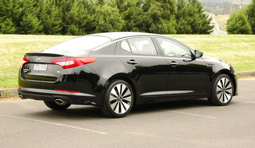 DRIVEN: Kia Optima 2.4 GDI sampled in Melbourne Image #66553