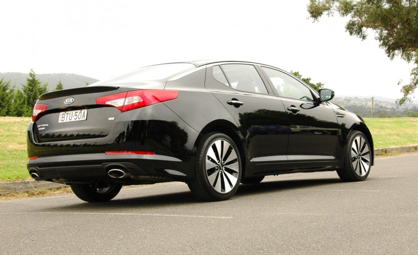 DRIVEN: Kia Optima 2.4 GDI sampled in Melbourne Image #66554