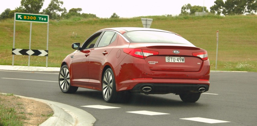 DRIVEN: Kia Optima 2.4 GDI sampled in Melbourne Image #66556