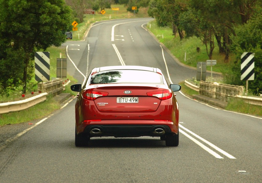 DRIVEN: Kia Optima 2.4 GDI sampled in Melbourne Image #66557