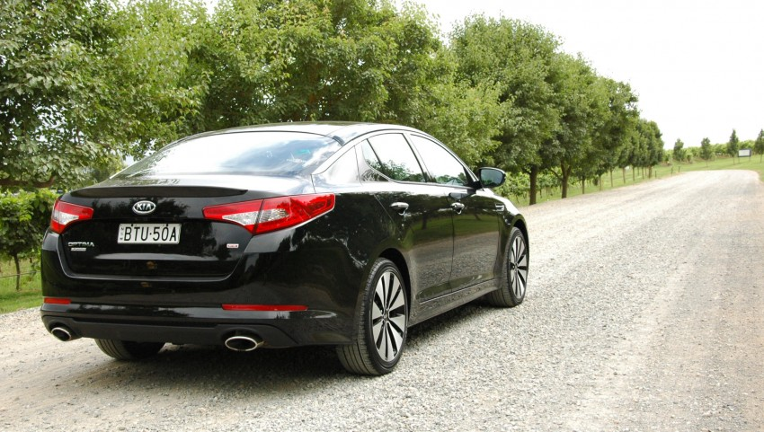 DRIVEN: Kia Optima 2.4 GDI sampled in Melbourne Image #66558