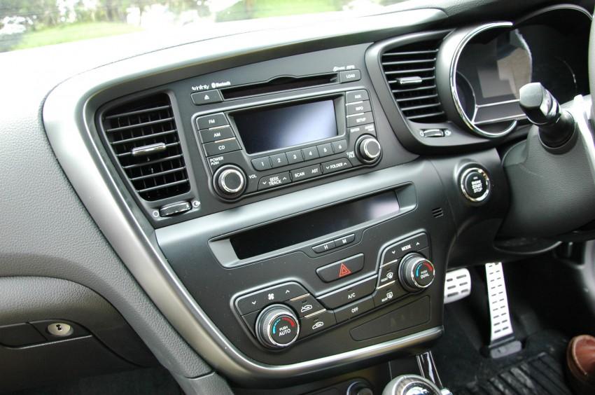 DRIVEN: Kia Optima 2.4 GDI sampled in Melbourne Image #66565