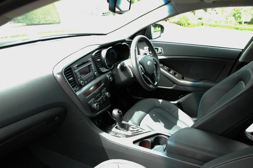 DRIVEN: Kia Optima 2.4 GDI sampled in Melbourne Image #66569