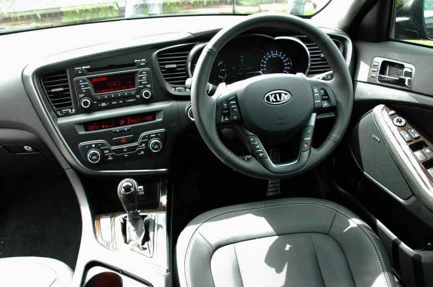 DRIVEN: Kia Optima 2.4 GDI sampled in Melbourne Image #66570