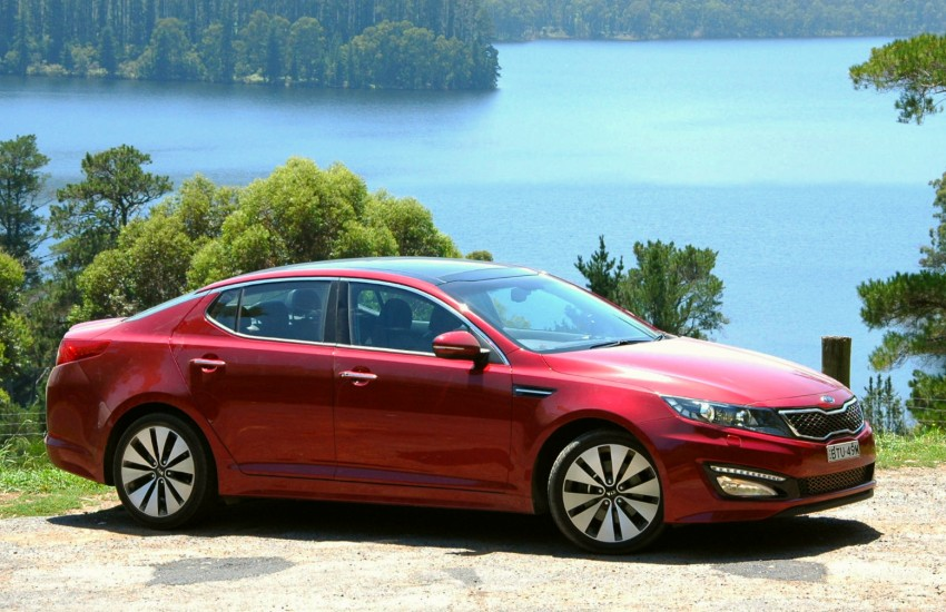 DRIVEN: Kia Optima 2.4 GDI sampled in Melbourne Image #66571