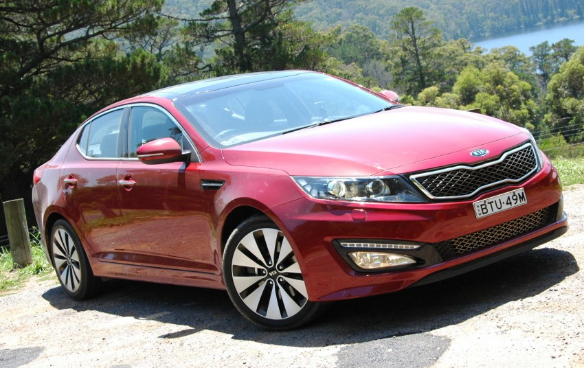 DRIVEN: Kia Optima 2.4 GDI sampled in Melbourne Image #66572