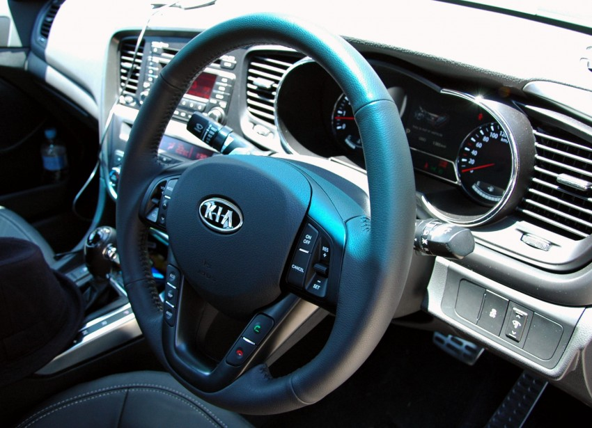 DRIVEN: Kia Optima 2.4 GDI sampled in Melbourne Image #66573