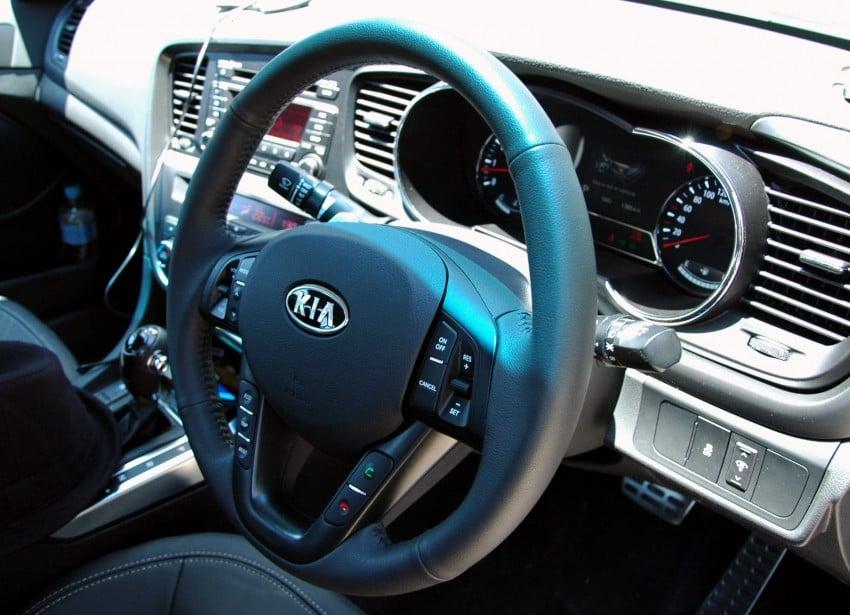Kia Optima 2.4 GDI Test Drive Report from Australia Image #66573