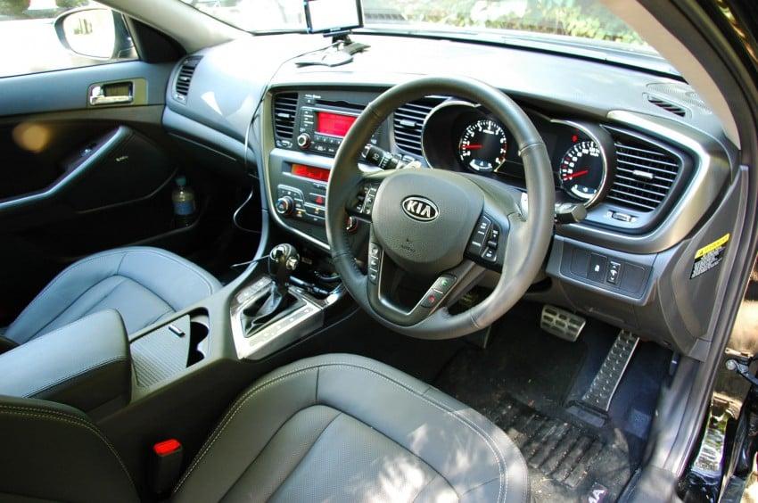 Kia Optima 2.4 GDI Test Drive Report from Australia Image #66579