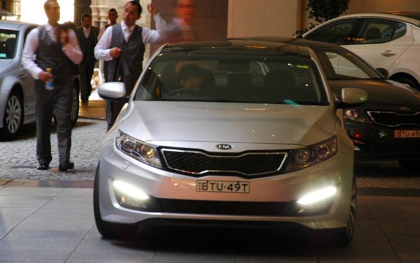 DRIVEN: Kia Optima 2.4 GDI sampled in Melbourne Image #66583