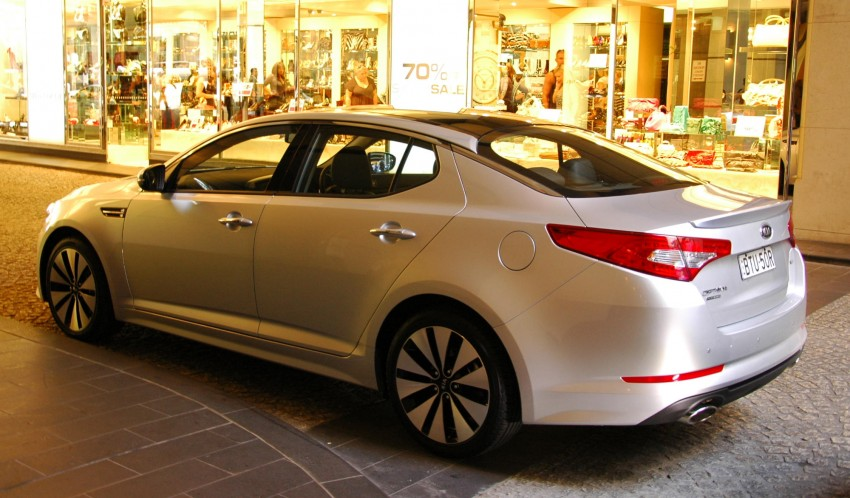 DRIVEN: Kia Optima 2.4 GDI sampled in Melbourne Image #66584