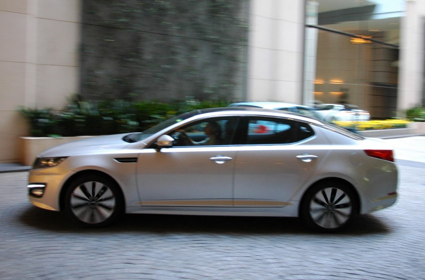 DRIVEN: Kia Optima 2.4 GDI sampled in Melbourne Image #66586