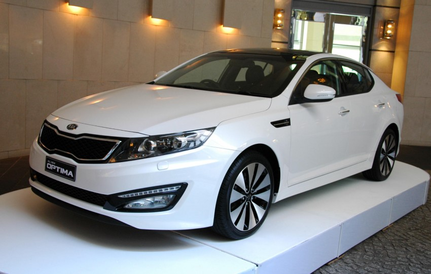 DRIVEN: Kia Optima 2.4 GDI sampled in Melbourne Image #66589
