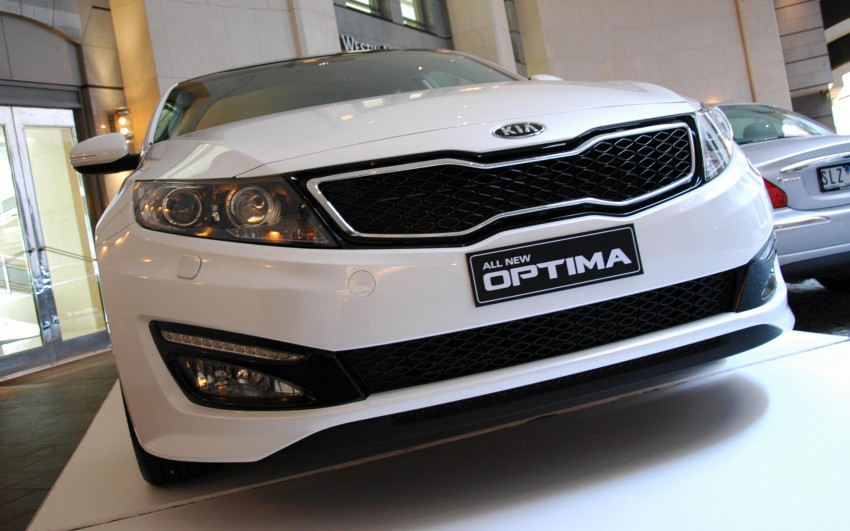 DRIVEN: Kia Optima 2.4 GDI sampled in Melbourne Image #66591
