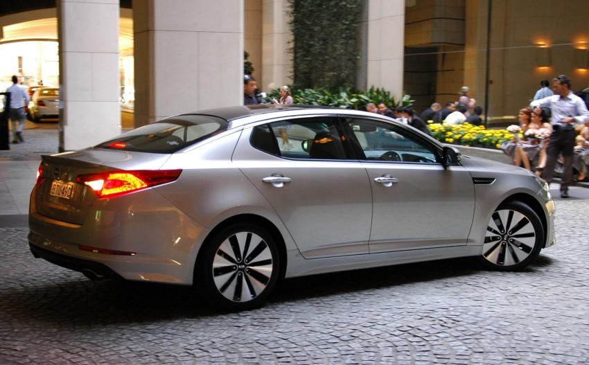 DRIVEN: Kia Optima 2.4 GDI sampled in Melbourne Image #66596