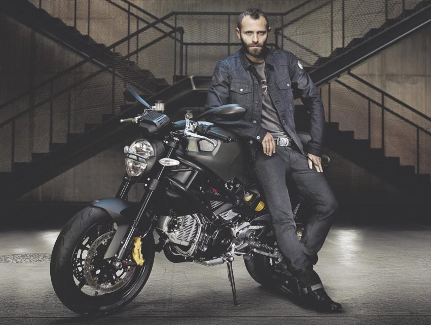Ducati Monster Diesel: not an oil burner, but fashion tie-in Image #94243