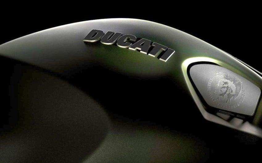 Ducati Monster Diesel: not an oil burner, but fashion tie-in Image #94241