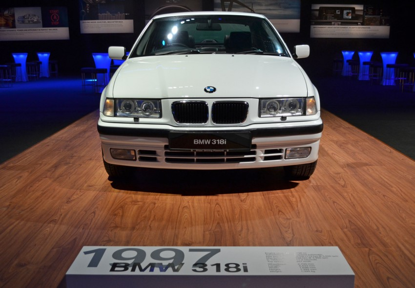 GALLERY: BMW 3-Series lineage display at the F30 launch Image #96679