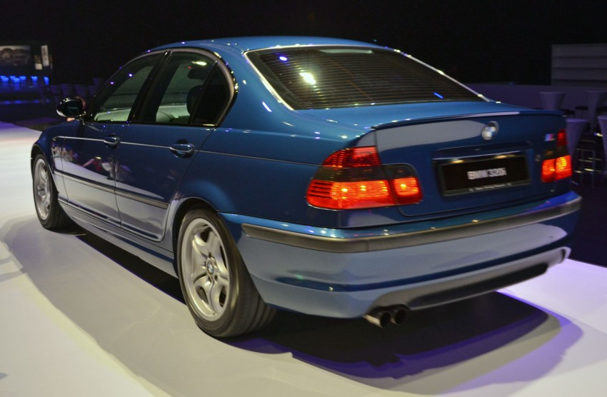 GALLERY: BMW 3-Series lineage display at the F30 launch Image #96696