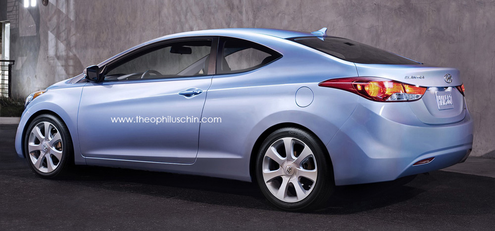 Hyundai Elantra Coupe To Get Chicago 2012 Debut Paul Tan Image 76612