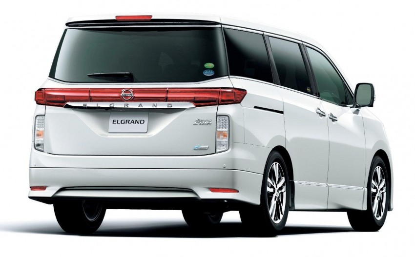 Nissan Elgrand 3.5 V6 – ETCM officially launches the E52 Image #102028