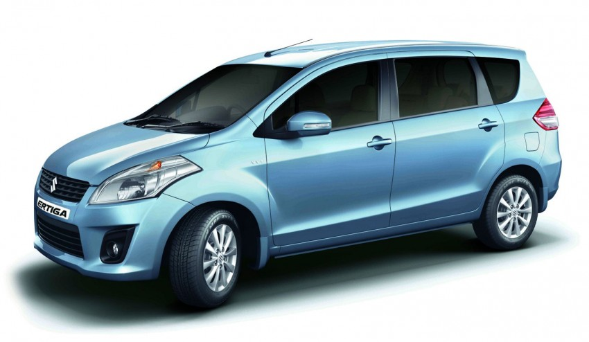 Maruti Suzuki Ertiga launched in India – it's a Swift MPV Image #101755