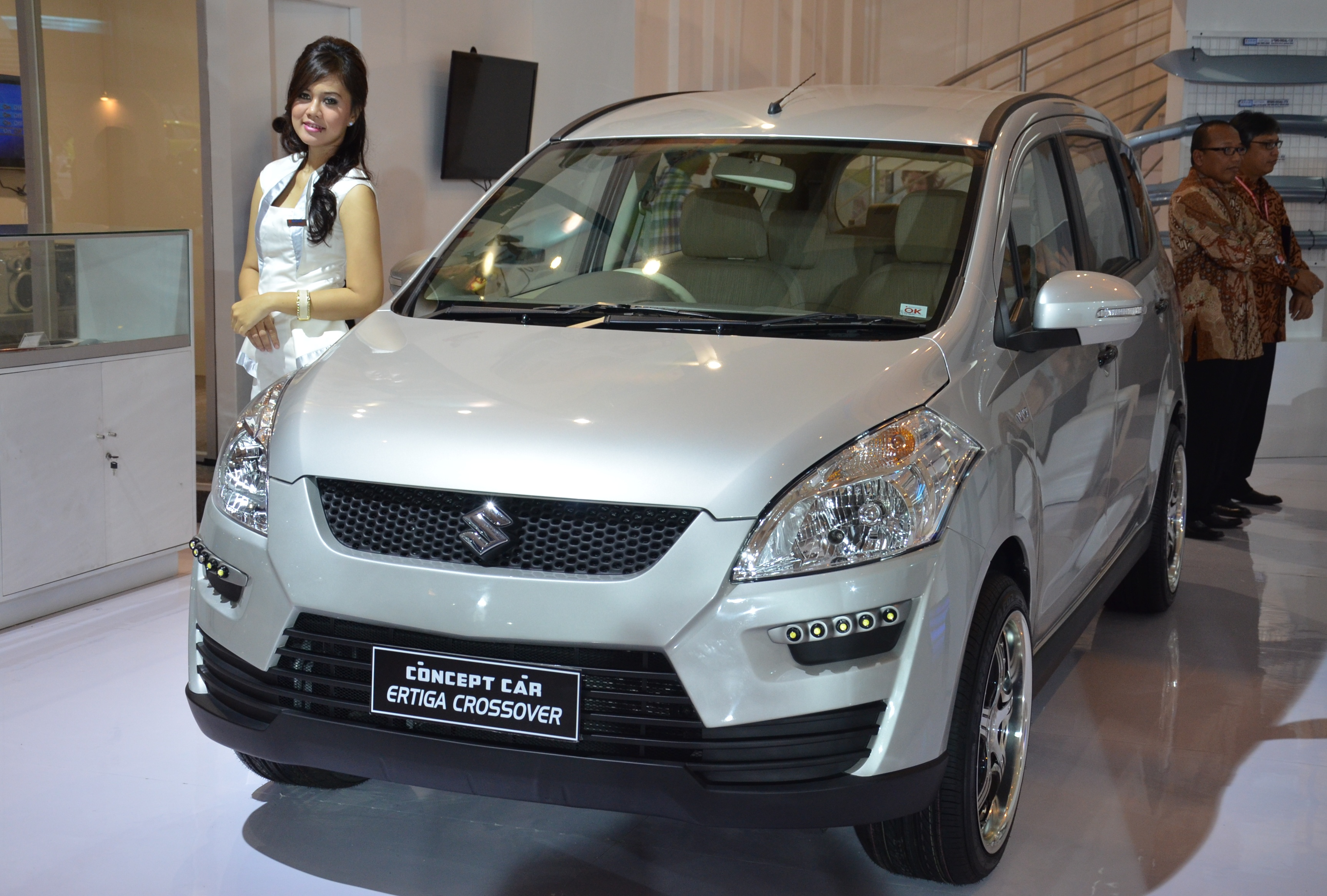 Suzuki Ertiga A Trio Of Concepts Showcased At Iims