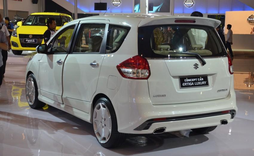 Suzuki Ertiga – a trio of concepts showcased at IIMS Image #132970