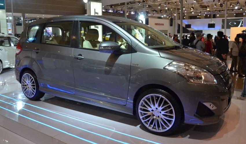 Suzuki Ertiga – a trio of concepts showcased at IIMS Image #132966