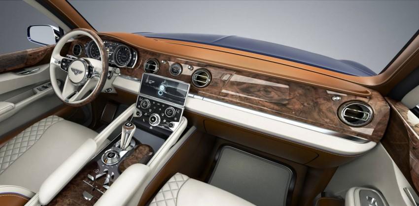 Bentley reveals powertrain options for its EXP 9 F concept Image #102272