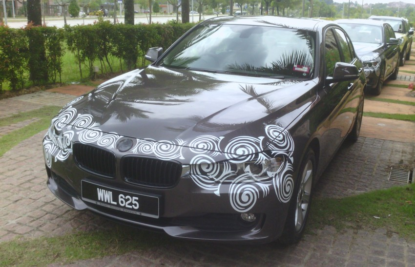 F30 BMW 3 Series seen again, as the launch is nigh Image #92944