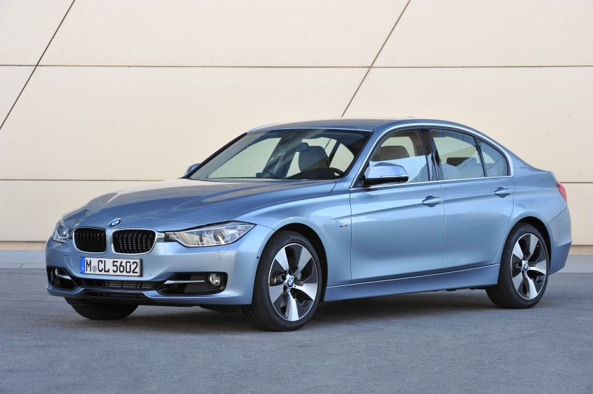 GALLERY: BMW ActiveHybrid 3 on-location shots Image #117839