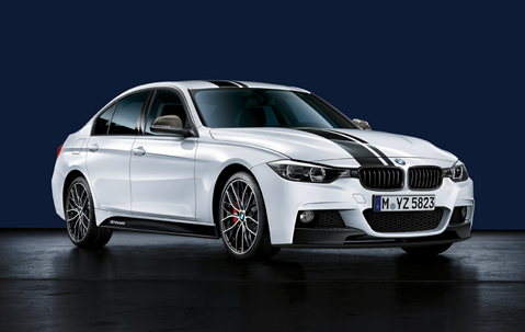 BMW F30 3-Series launch: BMW M Performance kit display Image #96788