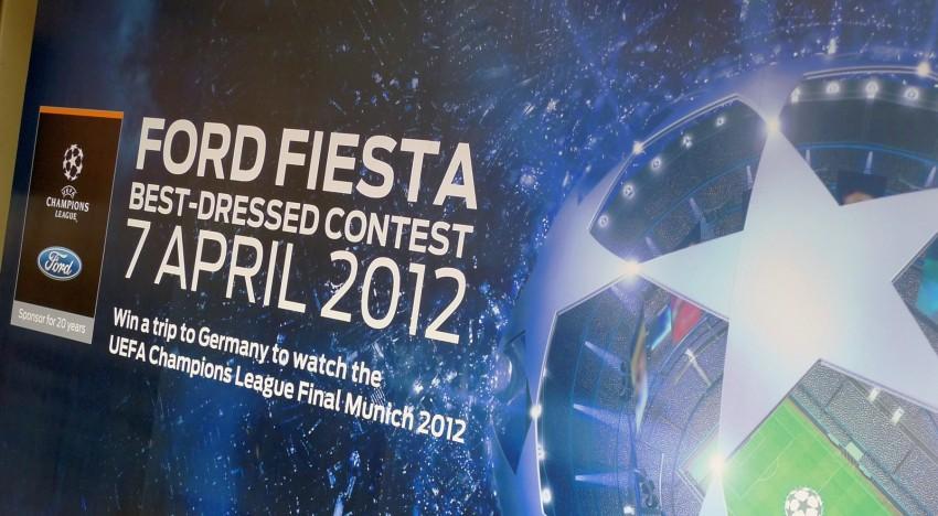 Ford Fiesta Best-Dressed Contest sees five Munich-bound Image #99794