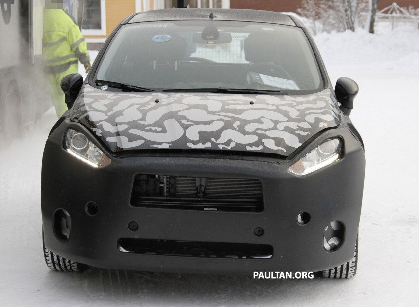 Ford Fiesta facelift begins testing on public roads Image #85357