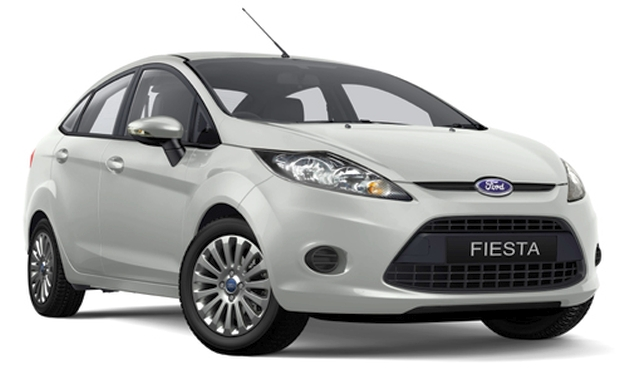 Ford Fiesta sedan facelift – rendering of the new front Image #110950