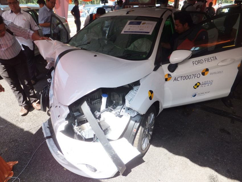ASEAN NCAP first phase results released for eight models tested – Ford Fiesta and Honda City get 5 stars Image #151937