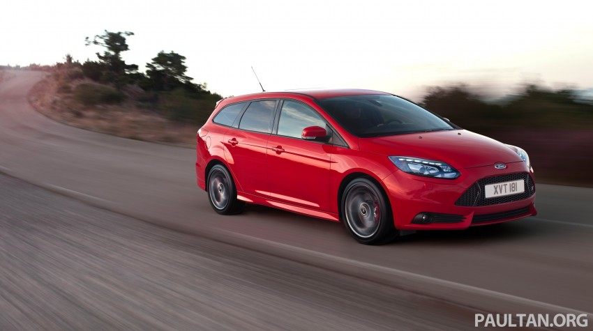 Ford Focus ST debuts, in five-door and estate forms Image #131030