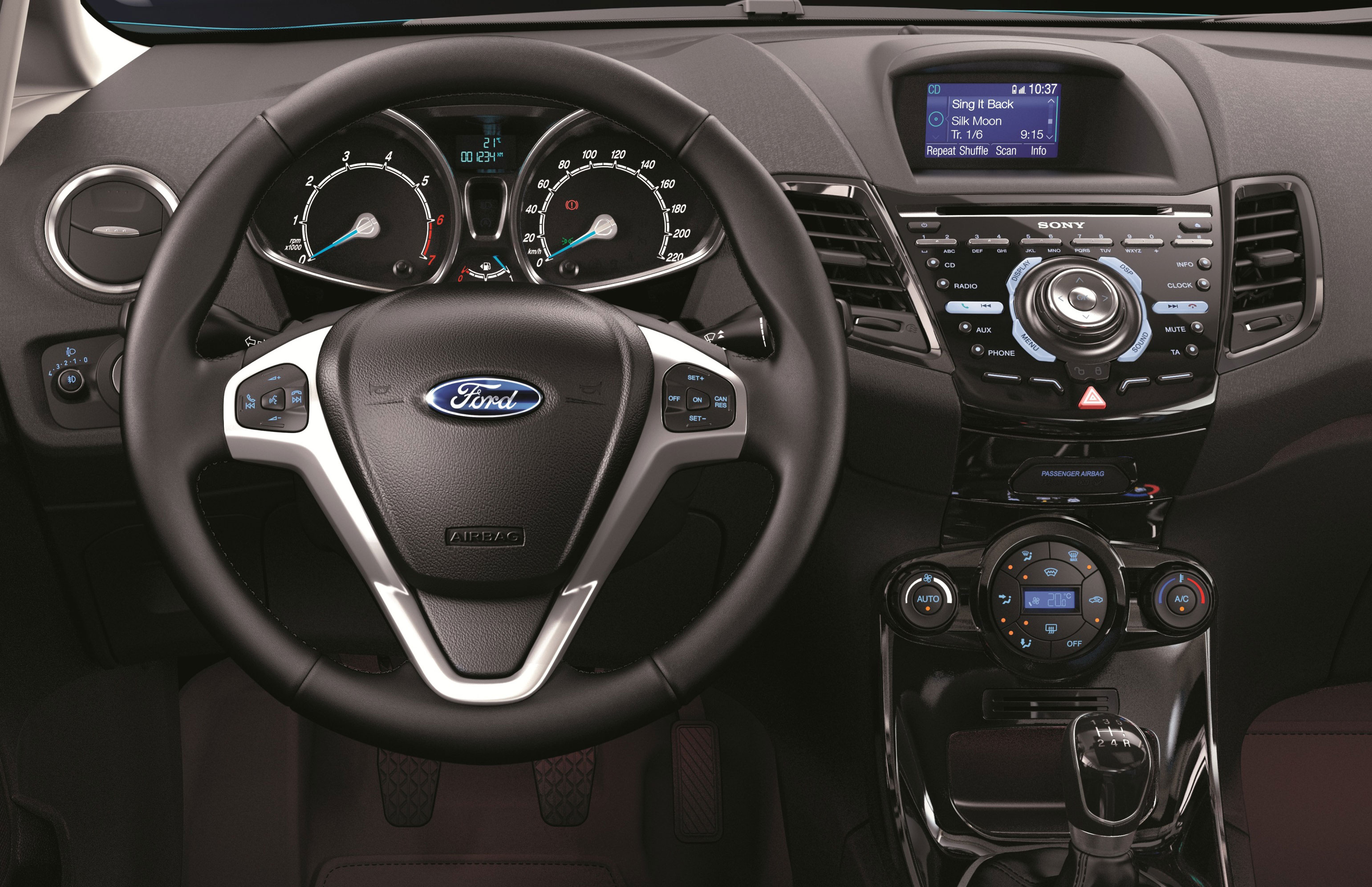 Ford Fiesta Facelift Unveiled Gets 1 0l Ecoboost Image 128996