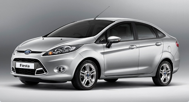 Ford Fiesta sedan facelift – rendering of the new front Image #110943