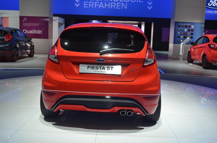 Frankfurt: Ford's Fiesta ST Concept takes centre stage Image #69295