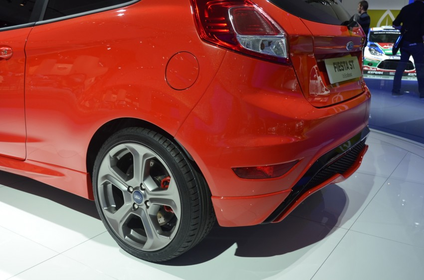 Frankfurt: Ford's Fiesta ST Concept takes centre stage Image #69307
