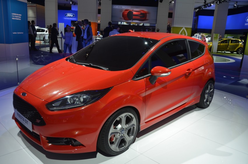 Frankfurt: Ford's Fiesta ST Concept takes centre stage Image #69312